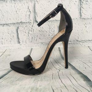 NWOB Sam Edelman Black Patent Leather Stilettos 7